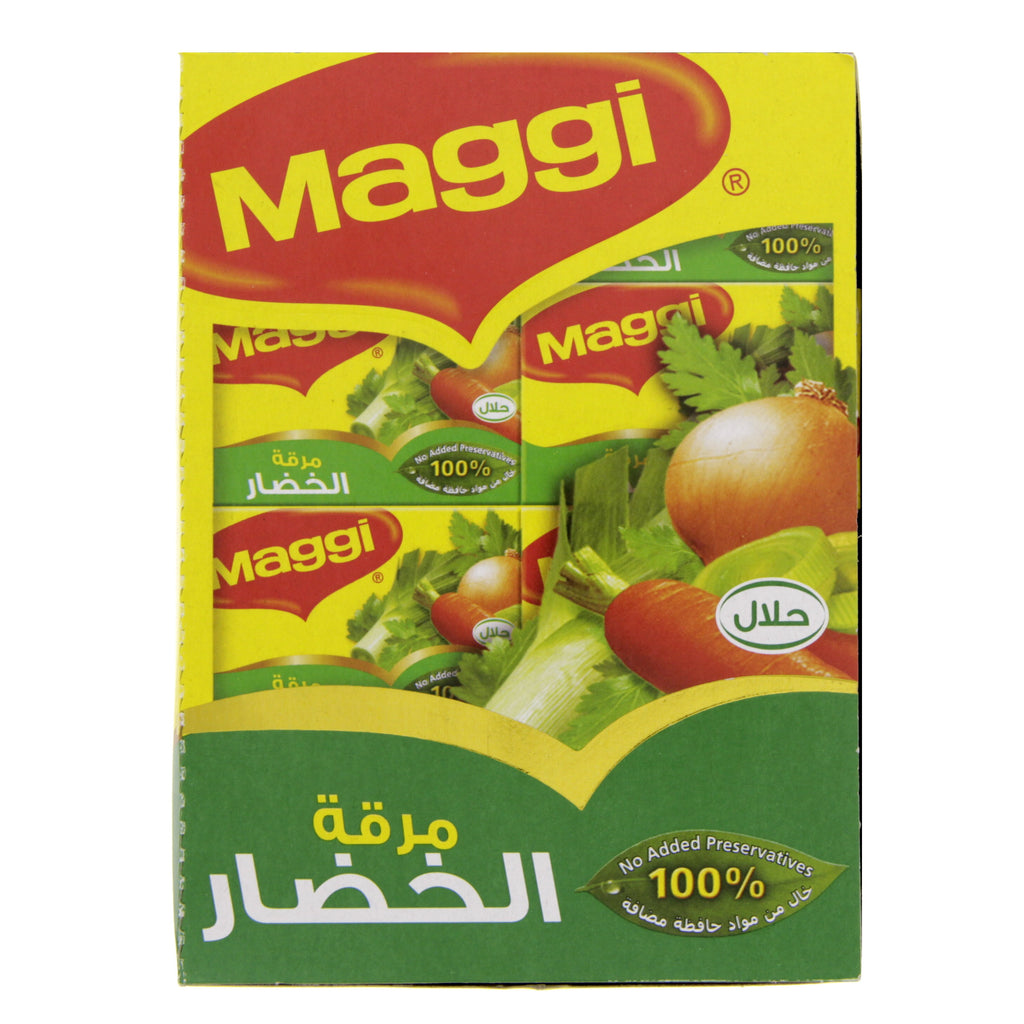 Vegetable Cubes Maggi