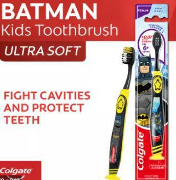 Colgate Batman Kids Toothbrush - Soft - 6+ Years - MarkeetEx