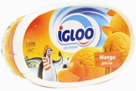 Ice Cream Mango IGLOO 1Ltr