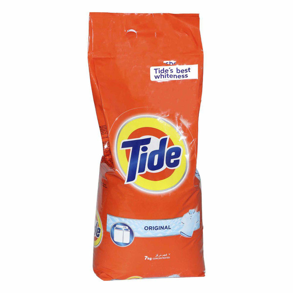 Tide Detergent Clothes Washing Powder - Original - 7kg Bag - MarkeetEx