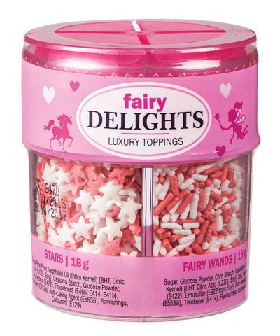 Delights - Fairy - Luxury Toppings - 82gm - Assorted - MarkeetEx
