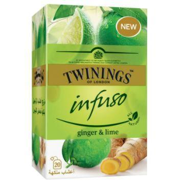 Twinings of London - Infuso Ginger & Lime - 20's Pack