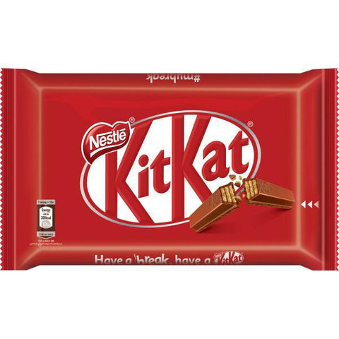 Nestle Kitkat 4 Finger Chococlate Wafer 24 x 41.5g