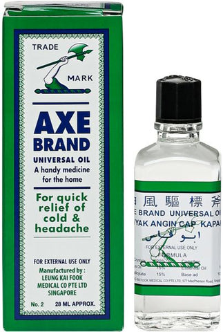 Axe Universal Oil - 28 ml - MarkeetEx
