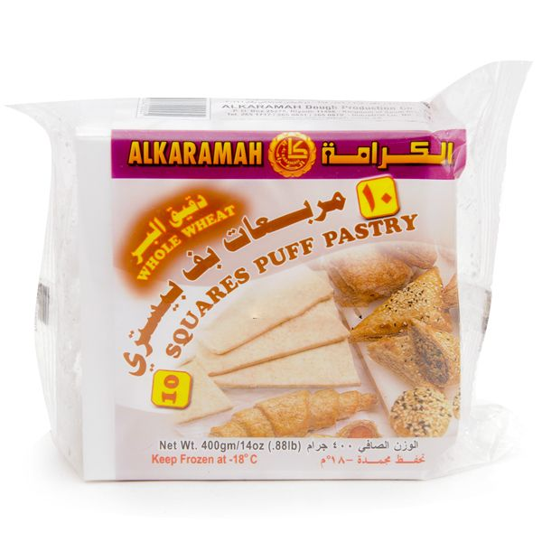 AL KARAMAH 10 PUFF PSTRY.WH/WHEAT400G - MarkeetEx