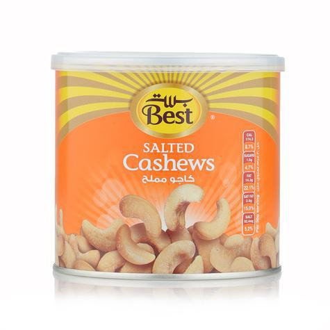 Best Salted Cashews - Can 110gm