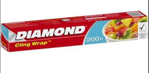 Diamond Cling Wrap 200ft. - 30cmX60m