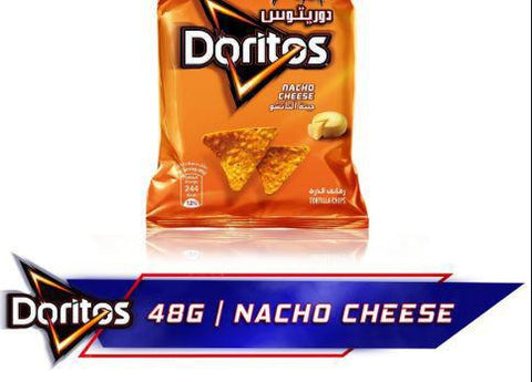 Doritos Nacho Cheese Tortilla Chips 48gm