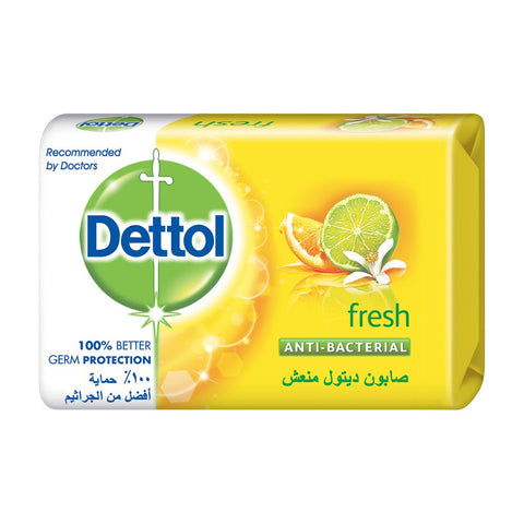Dettol Soap Lemon Fresh 120g