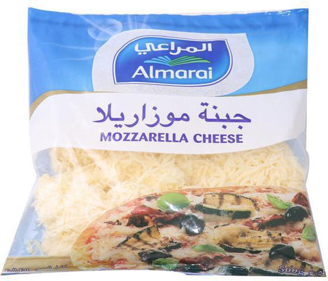 Almarai Shredded Mozzarella Cheese 500gm - MarkeetEx