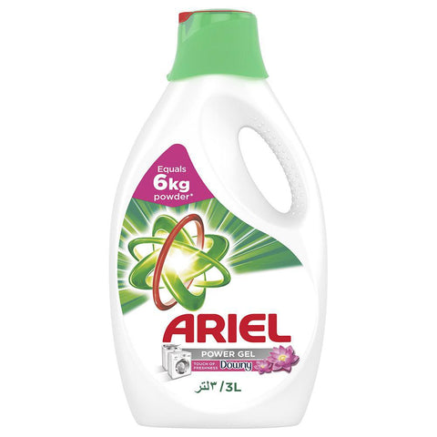 Ariel Power Gel - Downy - 3Ltr