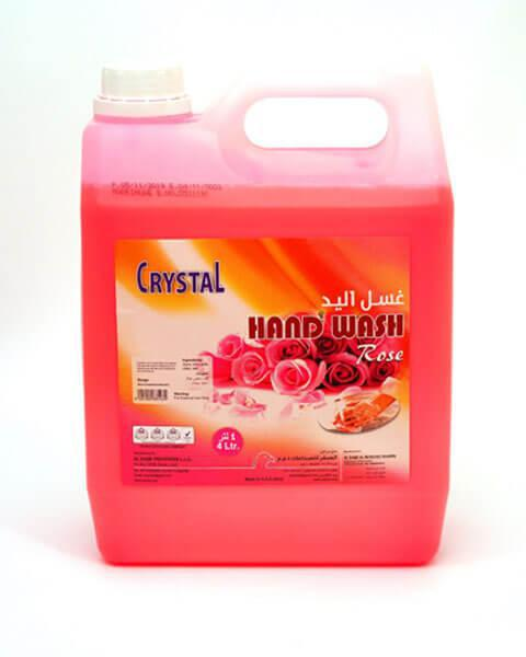 Crystal Hand Wash - Rose - 4 Ltr Can - MarkeetEx