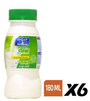 ALMARAI FRESH LABAN 180ML X 6 PCS PACK - MarkeetEx