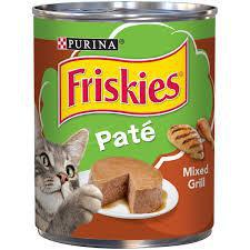 Cat food Purina Friskies Pate Mixed Grill 368gm- غذاء القطط فريسكيس