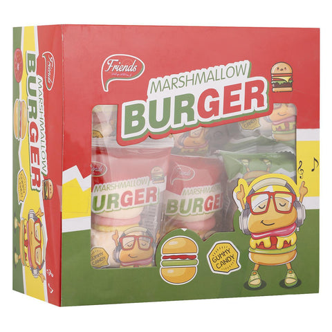 Friends Marshmallow Burger 15g X 18bags Pack - MarkeetEx