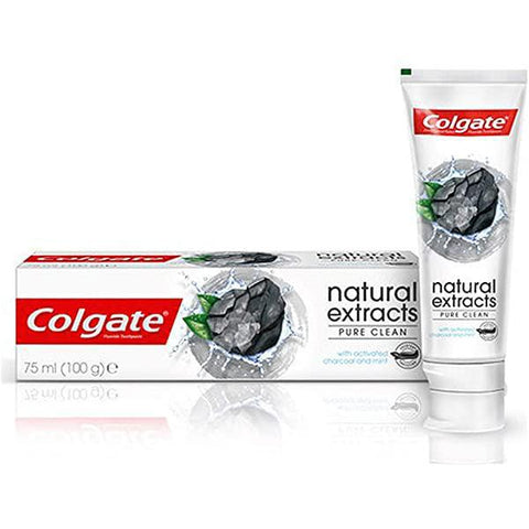 Colgate Toothpaste Natural Extracts Pure Clean 75ml - MarkeetEx