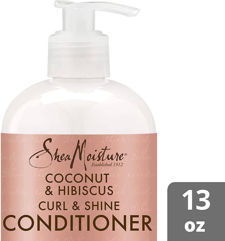 shea moisture coconut and hibiscus conditioner-384ml - MarkeetEx