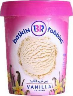 Baskin RobbinS Vanilla Ice Cream 500ml - MarkeetEx