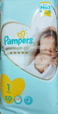PAMPERS PREMIUM CARE STAGE 1 - 50 MIP
