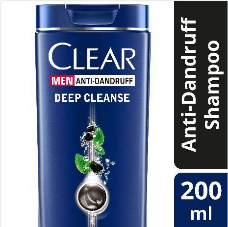 CLEAR MEN SHAMPOO DEEP CLEANSE 200ML