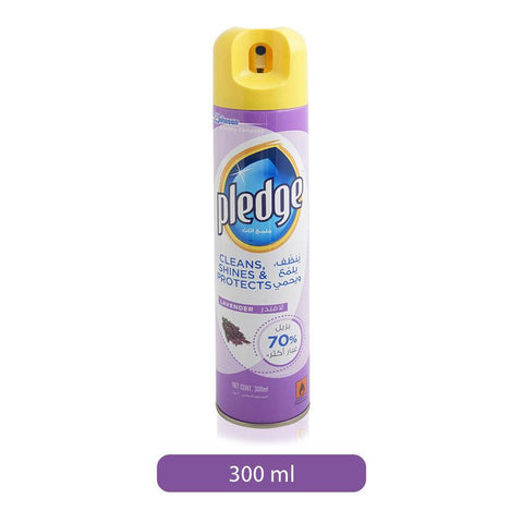 Pledge Furniture Cleaner & Polish- Lavender 300ml-  منظف الأثاث  بلدج