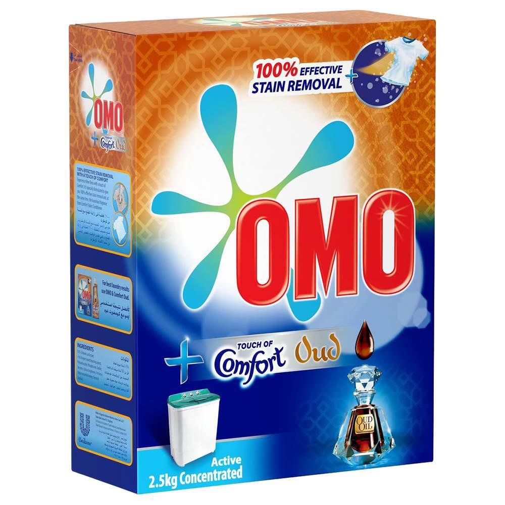 OMO Touch of Comfort Oud - Active 2.5kg Concentrated - MarkeetEx