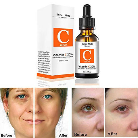 Isner Mile Naturals Powerful Vitamin C Serum for Face