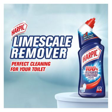 Harpic Toilet Cleaner 100% Limescale Remover 500ml