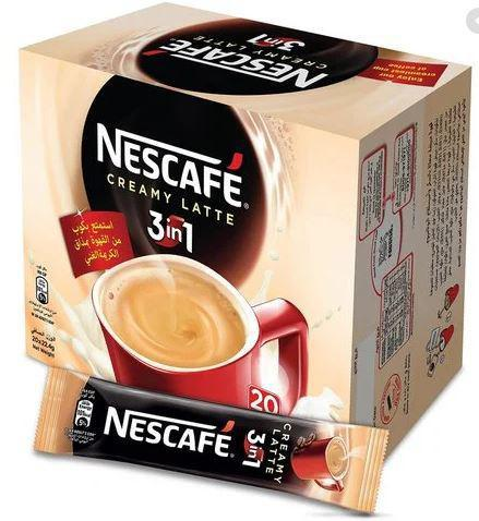 Nescafe Creamy Latte 3in1 20X22.4gm Pack