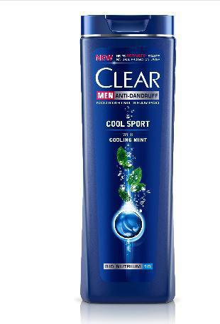 CLEAR MEN SHAMPOO COOL SPORT MENTHOL 200ML