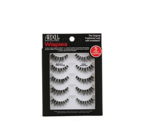 Ardell, Wispies Original Feathered Lash With Invisiband, 5 Pairs
