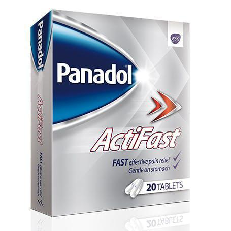 Panadol Actifast - 20 Tablets Pack - MarkeetEx