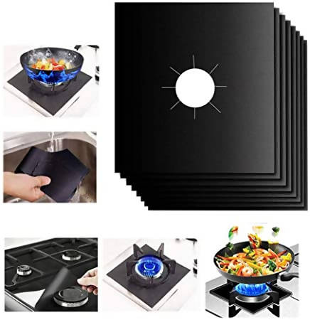 Non-Stick Pad Reusable Top Protectors Stove Burner Covers (4 PCs) - MarkeetEx