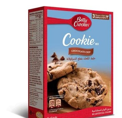 Betty Crocker Cookie Mix Chocolate Chip 496GM-
