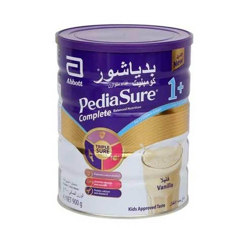 Pediasure Complete Vanilla Milk Powder 1+ - بدياشور كومبليت فانيليا - MarkeetEx