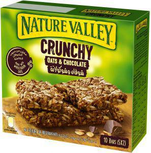 Nature Valley Crunchy Oats & Chocolate 10 Bars (5X2) Pack