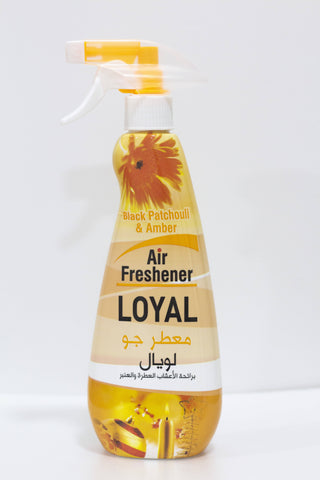 Loyal air freshener Black Patchouli & Amber 450ml - MarkeetEx