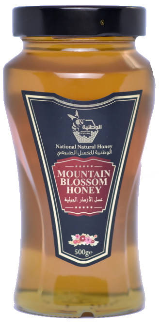 MOUNTAIN BLOSSOM HONEY 500 gr - MarkeetEx