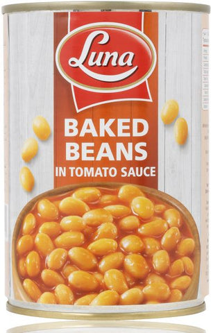 Luna Baked Beans In Tomato Sauce - 400g