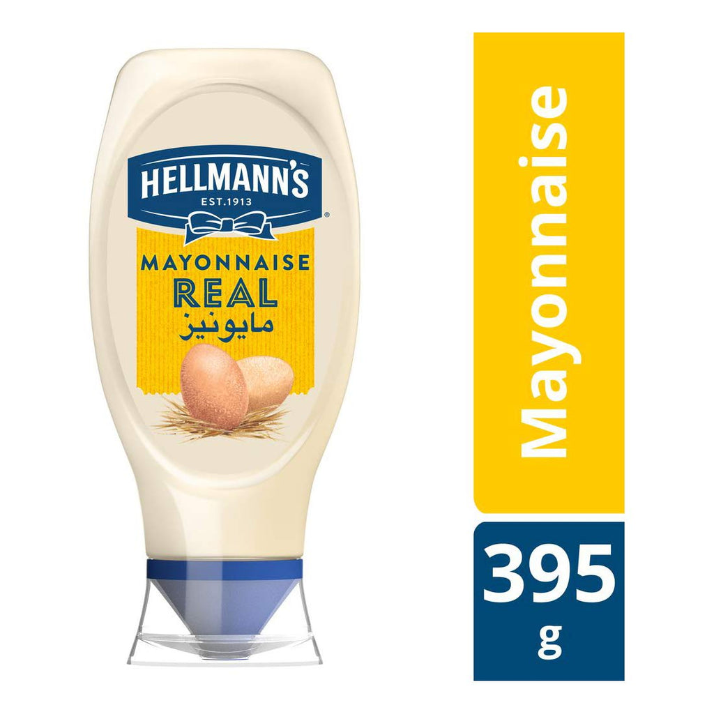 Hellmann's Mayonnaise Real - 395gm