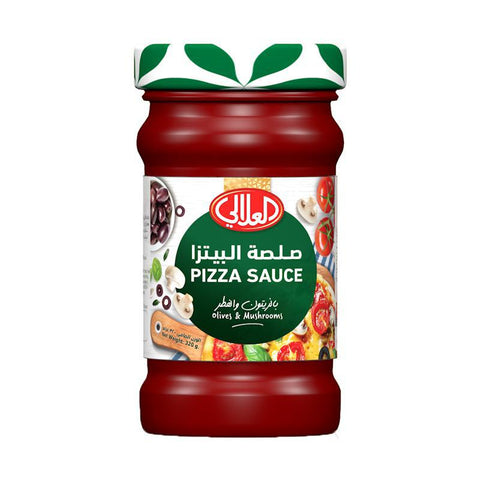 Al AlALi Pizza Sauce With Olive & Mushrooms 320gm - MarkeetEx