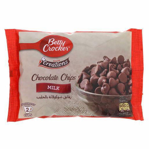 Betty Crocker Creations Chocolate Chips Milk 200gm - MarkeetEx