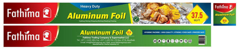 Fathima Aluminium Foil - Heavy Duty - 37.5 Sq. Ft
