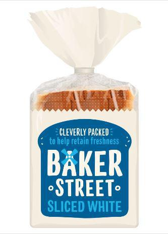 BAKER STREET SLICED WHITE 550 GRM