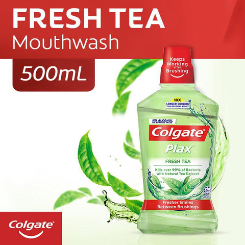 Colgate Plax Mouthwash - Tea Fresh - 500ml - MarkeetEx
