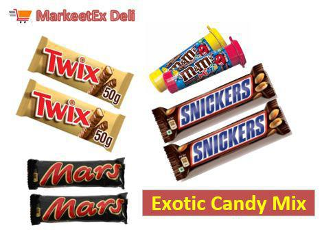 Exotic Candy Mix (Deli) - 300gm Pack (8pcs Pack) - MarkeetEx
