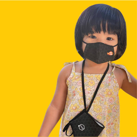 Antibacterial Graphene Facemask (3 per pack) - Kids (2-4 Years) - MarkeetEx