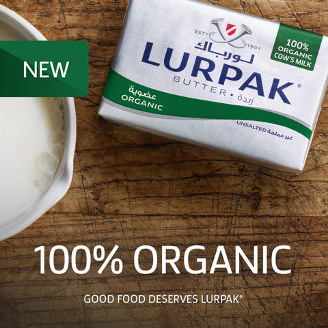 Lurpak Butter Organic Unsalted 200gm
