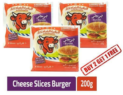 LaVachequirit - Burger Sliced Cheese 200gm (2+1 Free Pack) - MarkeetEx