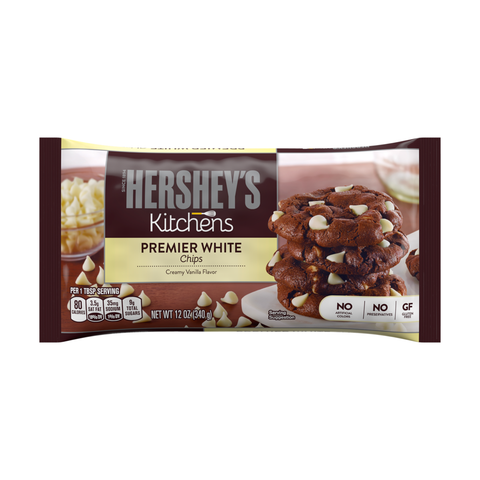 Hershey's Kitchens Premier White Chips 340gm
